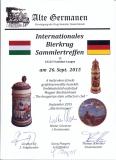 német oklevél